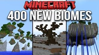 Minecraft 1.10 Over 400 New Biomes & 1700 Custom Structures (Terrain Control Mod- Biome Bundle