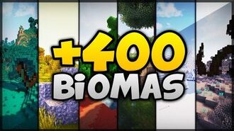 +400 BIOMAS NOVOS E REALISTAS NO MINECRAFT - BIOME BUNDLE (MOD)