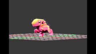 Electrosaurus animations