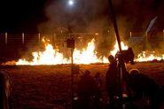 Nightfall BTS fire