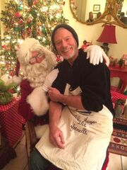 Slang santa's lap