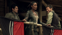 Weaver, Mira Lucas at the command base