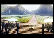 Agricultural fields concept art