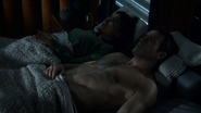 Elisabeth and Jim in bed extended scene