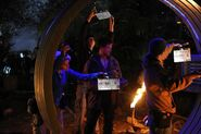 Terra Nova Within behind scenes Lukas Terminus close