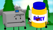 Honey is introduced