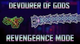 How to Beat the Devourer of Gods in Revengeance Mode! Calamity Mod 1.2 Boss Guide