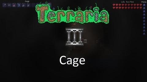 Terraria Obsidian Mod — Cage!