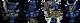 Синие бронированные кости