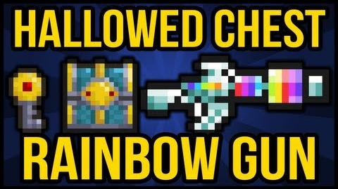 Hallowed Chest, Hallowed Key, The Rainbow Gun, Terraria 1 2, Terraria HERO