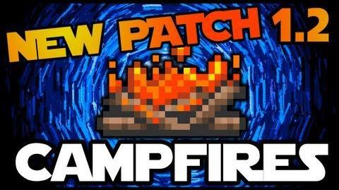 Campfire, Terraria 1 2 Campfire, New Item for 1 2 Terraria HERO