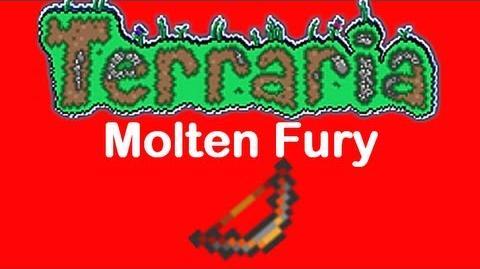 Terraria Molten Fury