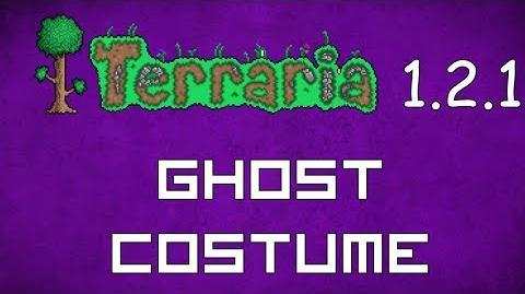 Ghost Costume - Terraria 1.2.1 New Social Set!