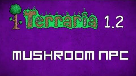 Mushroom NPC - Terraria 1