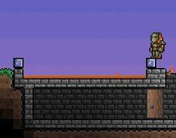 Terraria Lava trap Screenshot