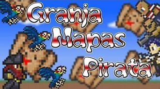 Tutorial Terraria - GRANJA DE MAPAS PIRATA