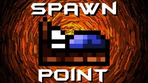 Minecraft Terraria - How To Set Your Spawn Point