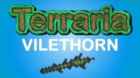 Terraria - VileThorn Aqua Scepter