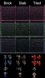 Dungeon walls and spawn types~2