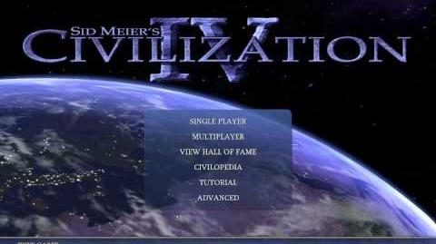 Civilization 4 Music Baba Yetu (Title Theme) HD Animated Background