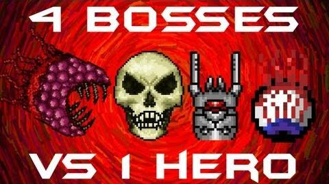Terraria - Wall of Flesh - All BOSSES SOLO Skeletron Prime, The Destroyer, The Twins, and The Wall of Flesh
