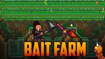Terraria - Bait Farm for Worms and Grasshoppers