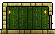Cactus Wall-placed