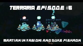 Terraria Martian Invasion Duke Fishron