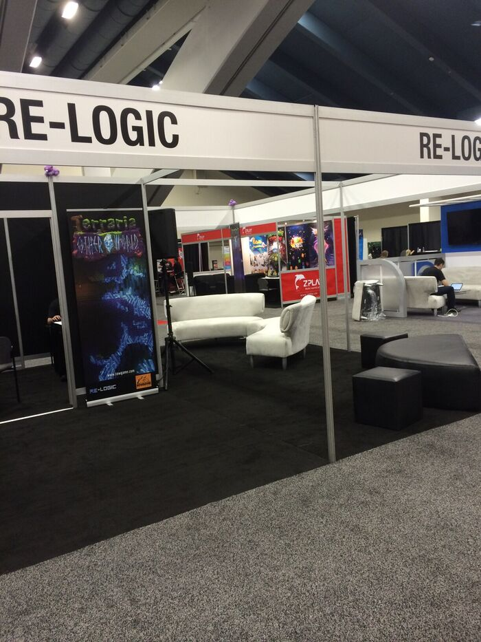 Relogic booth