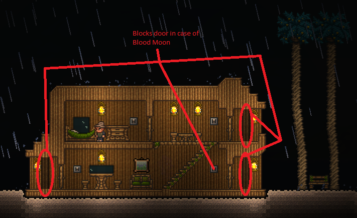 terraria wiki how to make a bed