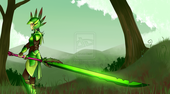 Blade of grass by darthvulgar-d3jyran