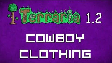Cowboy Clothing - Terraria 1.2 Guide New Social Set!
