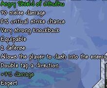 Shield of Cthulhu Stats