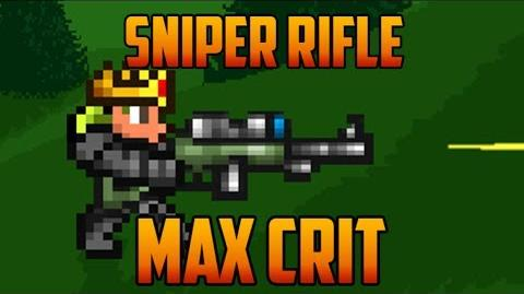 Terraria - Sniper Rifle, max crit loadout