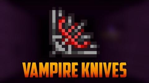 Terraria - Vampire Knives from Hard Mode Dungeon
