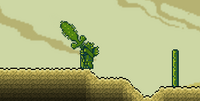 Кактусовый меч в действии
