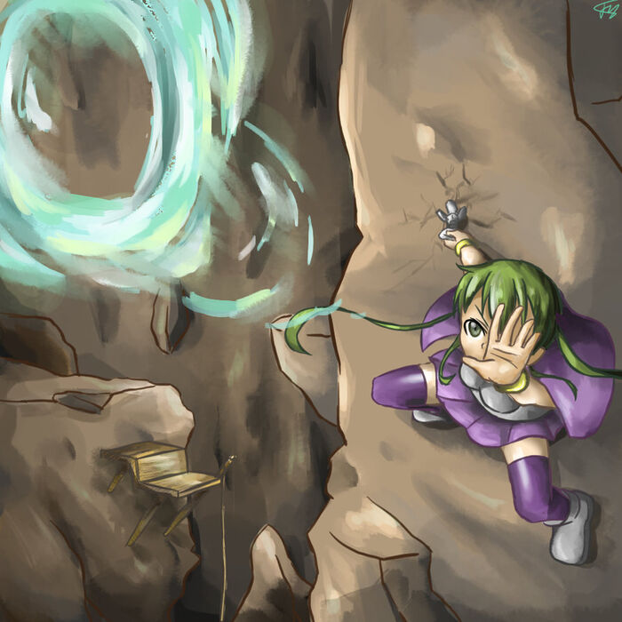 Terraria magic girl by ajidot-d8n3c1v