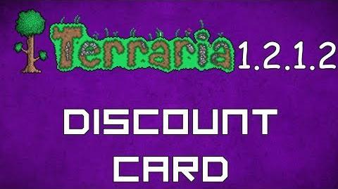 Discount Card - Terraria 1.2.1