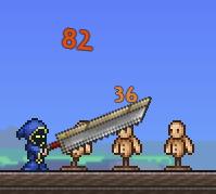 Espada despedazadora uso