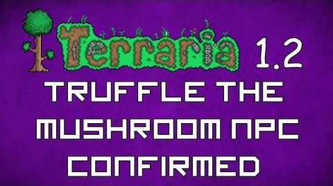 Truffle the Mushroom NPC Confirmed! - Terraria 1