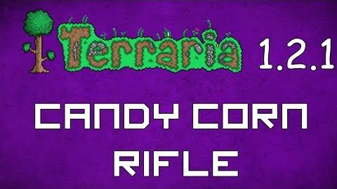 Candy Corn Rifle - Terraria 1.2.1 Guide New Ranged Weapon!