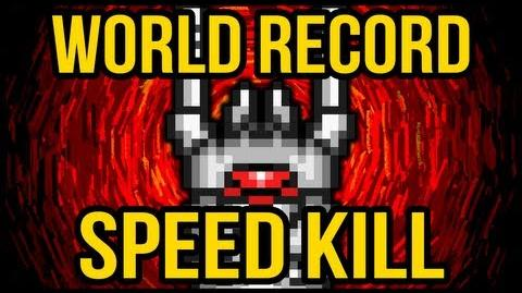 World RECORD SPEED KILL! The Destroyer!