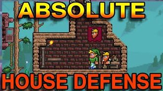 Absolute House Defense Platform Glitch Terraria 1.2