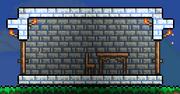 Дом из Снежного кирпича