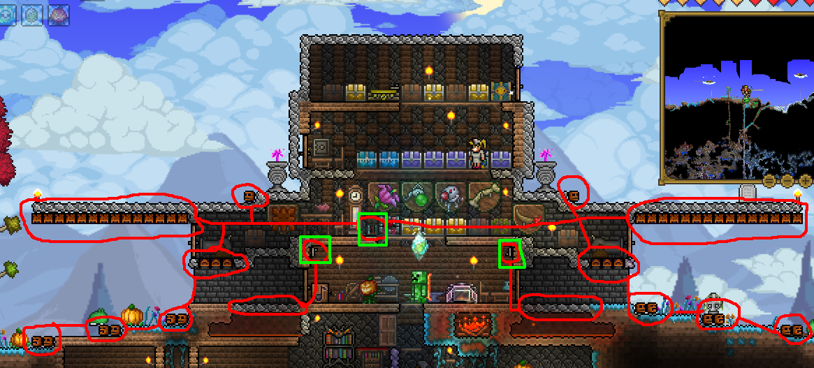 house defense terraria wiki fandom powered by wikia rh terraria wikia com Moon Lord Terraria Wiki Terraria Bosses