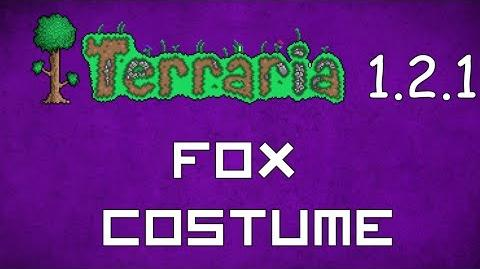 Fox Costume - Terraria 1.2.1 New Social Set!