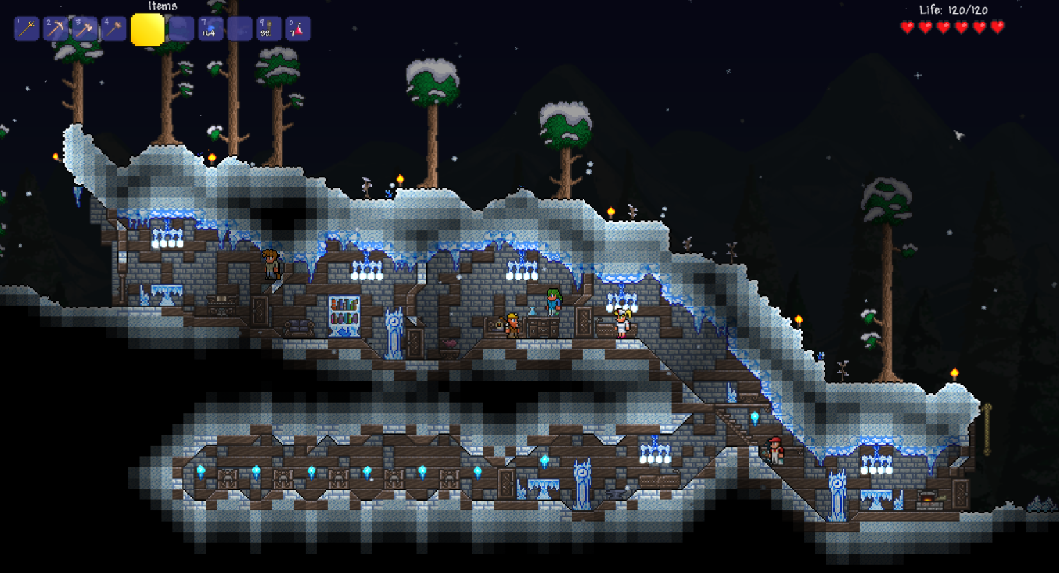 How To Make An Underground House In Terraria - Round Designs Best Terraria House Design Html on terraria home design, best runescape house design, best tiny house design, best minecraft house design, terraria tree house design, cool terraria castle design, terraria npc house design,
