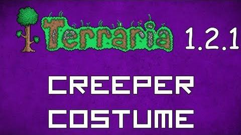 Creeper Costume - Terraria 1.2.1 New Social Set!