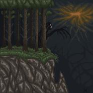 Лес, скалы-арт1