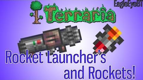 Terraria Rocket Launcher and Ammo! Explosive Weapon! Help and Howto!-0